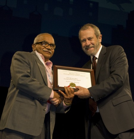 The Meriam/Wiley Distinguished Author Award is awarded to Katta G. Murty