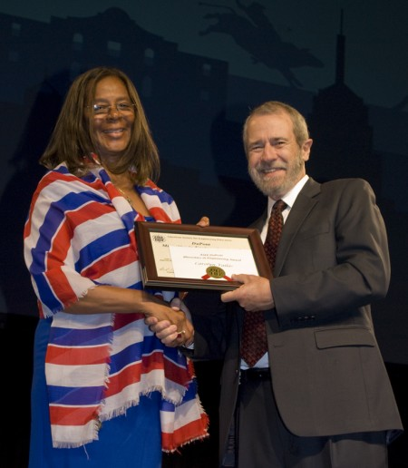 The DuPont Minorities in Engineering Award is awarded to Carolyn Vallas