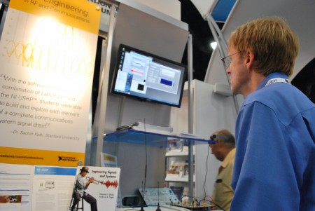 National Instruments booth